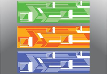 Arrows Banners - vector gratuit #159041