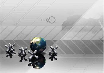 Globe - vector #159681 gratis