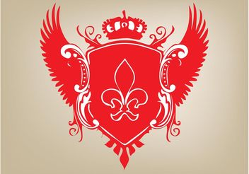 Coat Of Arms - Free vector #159991