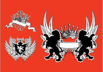 Coats Of Arms - vector #160251 gratis