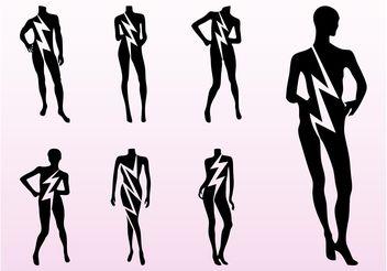 Mannequins Set - Free vector #160791