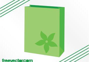 Eco Bag Vector - Kostenloses vector #160921