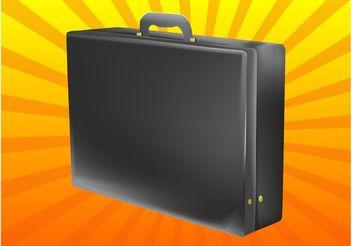Briefcase Vector - Free vector #161141