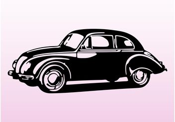 Old Car Vector - vector gratuit #161291