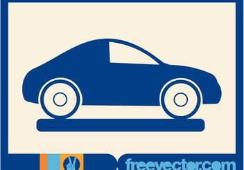 Car Icon - vector #161341 gratis