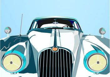 Car Closeup - vector gratuit #161371