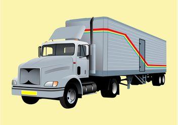 Vector Truck - Free vector #161491