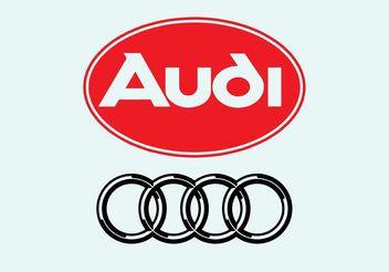 Audi Logo - бесплатный vector #161501