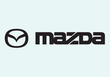 Mazda - vector #161581 gratis