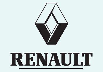 Renault Vector Logo Type - vector gratuit #161621