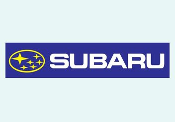 Subaru Vector Logo - vector #161641 gratis