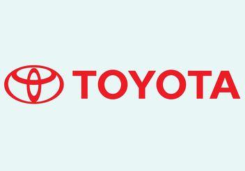 Toyota Vector Logo - vector #161651 gratis