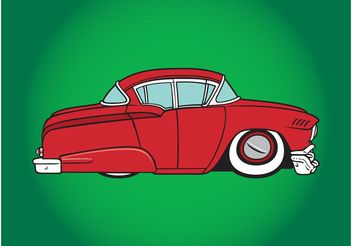 Old Car - vector gratuit #161771
