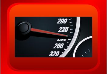 Speedometer Graphics - vector gratuit #162041
