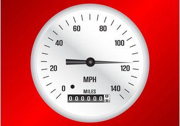 Speedometer Vector - бесплатный vector #162051
