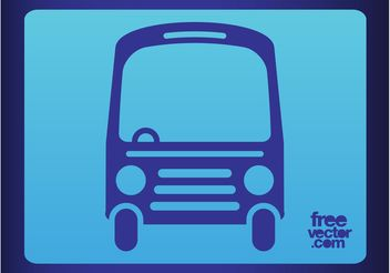 Bus Icon - vector #162071 gratis