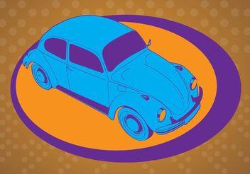 Beetle Vector - Free vector #162091