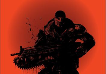 Gears Of War - vector gratuit #162371