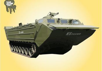Military Tank - Free vector #162381