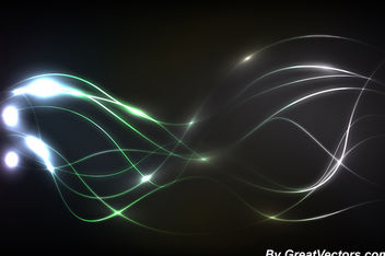 Energy Flow Abstract Lines Background - vector gratuit #162601