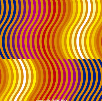 Samless vector pattern with waves - vector #162631 gratis