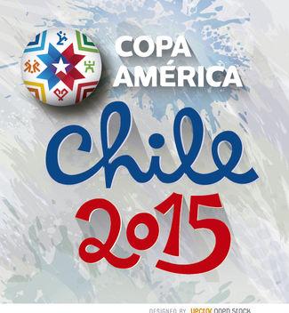 Copa America Chile logo - Free vector #163431