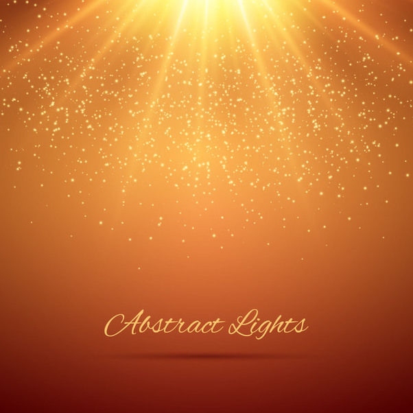 Glowing Sunshine Glittery Background - Free vector #163441