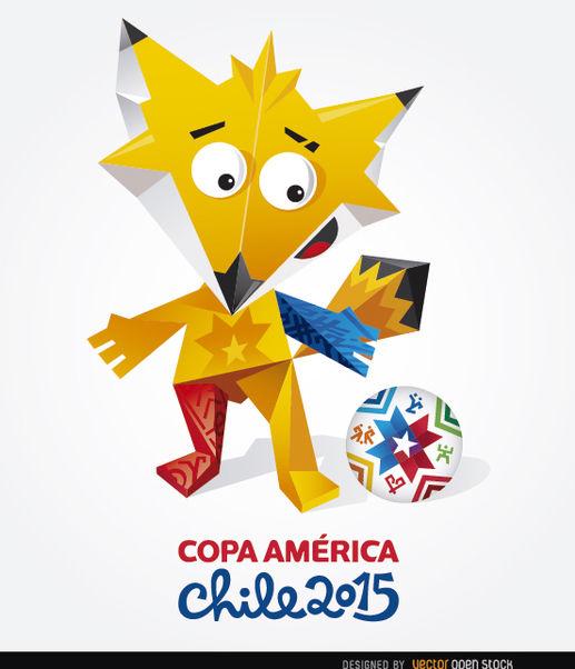 Zincha Copa America 2015 - vector #163461 gratis