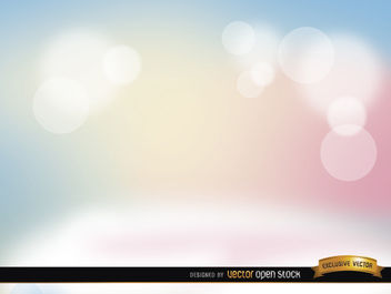 Pastel spotlights background - Free vector #164001