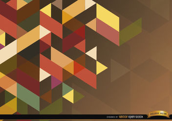 Cubic polygonal background - Free vector #166051