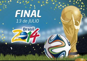 Final Brasil 2014 Promo - Free vector #166771