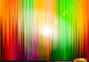 Vertical colored stripes background - vector gratuit #167101