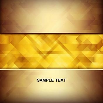Abstract Golden Linen Texture Insert Between Background - vector #167261 gratis