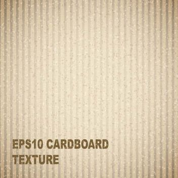 Cardboard Texture Background - Kostenloses vector #167501