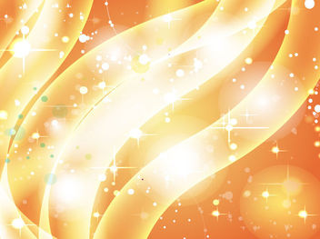 Wavy Stripes Golden Sparkling Background - Free vector #167791