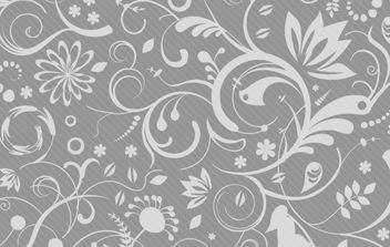 Swirl Floral Pattern Shape - Free vector #168341
