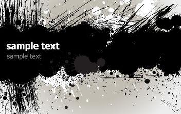 Grunge Banner - Free vector #168751