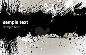 Grunge Banner - vector #168751 gratis