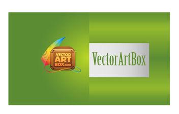Modern B-card - Free vector #168761