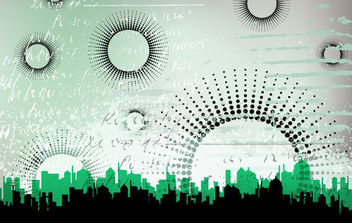 City theme Background - vector gratuit #168791