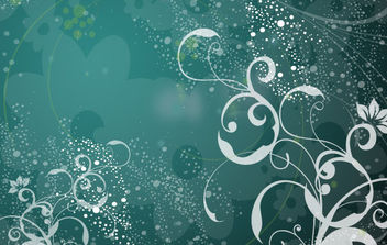 Transparent Flowers - vector #168841 gratis
