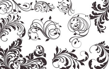 Vector Vintage Patterns for Designs - Free vector #169121