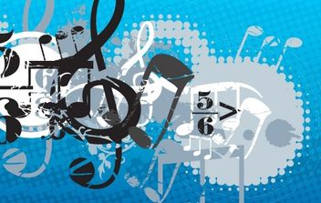 Music Composition - Free vector #169201