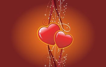 Valentines Vector Illustration - Free vector #169301