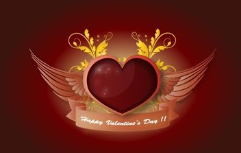 Valentines Day Illustration - Free vector #169411