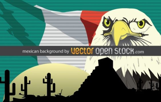Mexican background - Free vector #169421
