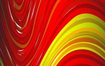 Red Yellow abtsract background - vector gratuit(e) #169751
