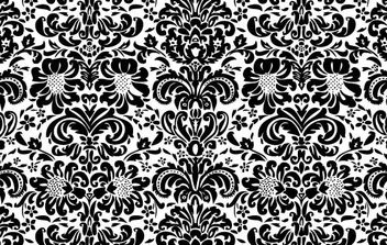 Floral wallpaper - vector #169761 gratis