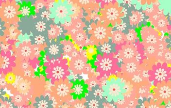 Floral colorful background - Free vector #169821
