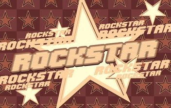 Rock Star Vector Graphic - Kostenloses vector #169921